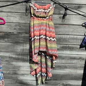 Gorgeous high to low dress💛